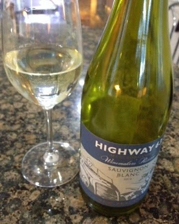 Highway 63 Sauvignon blanc wine review.