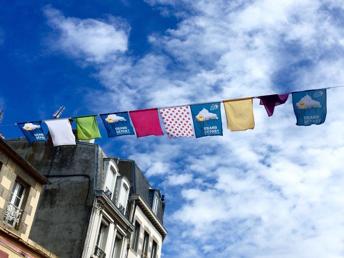 Le Tour de France 2016 in historic Normandy