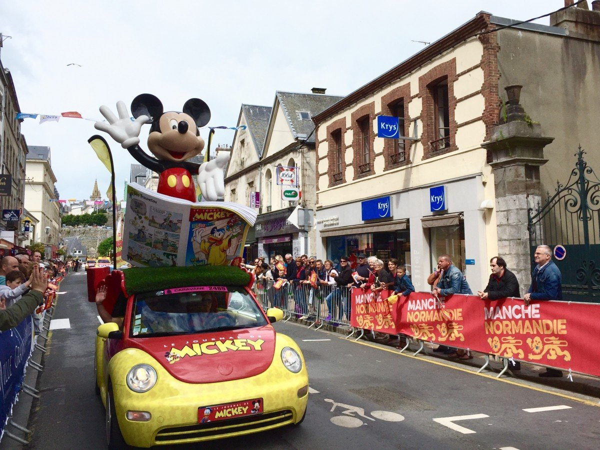 the tour de France 2016 in historic Normandy
