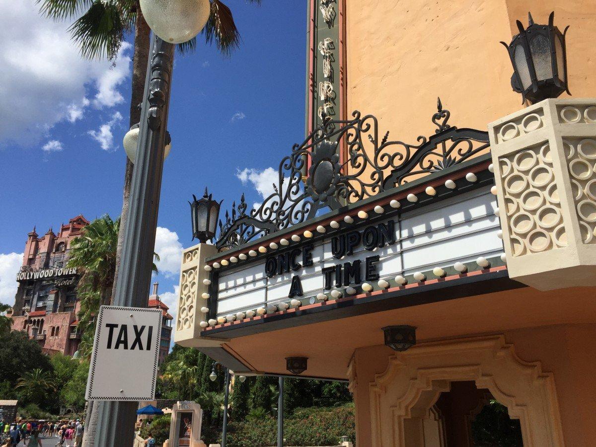 Disney's Hollywood studios artchitecture