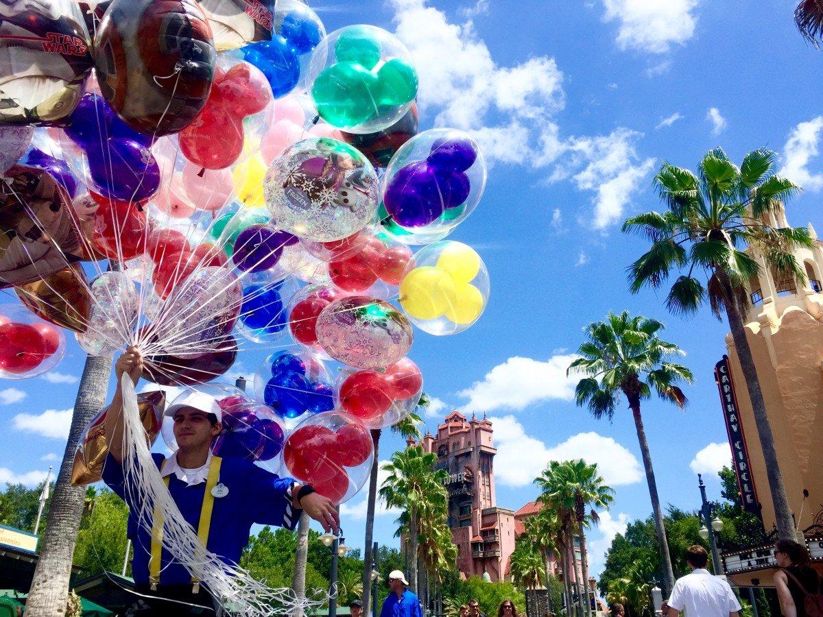 Balloons at Hollywood studios