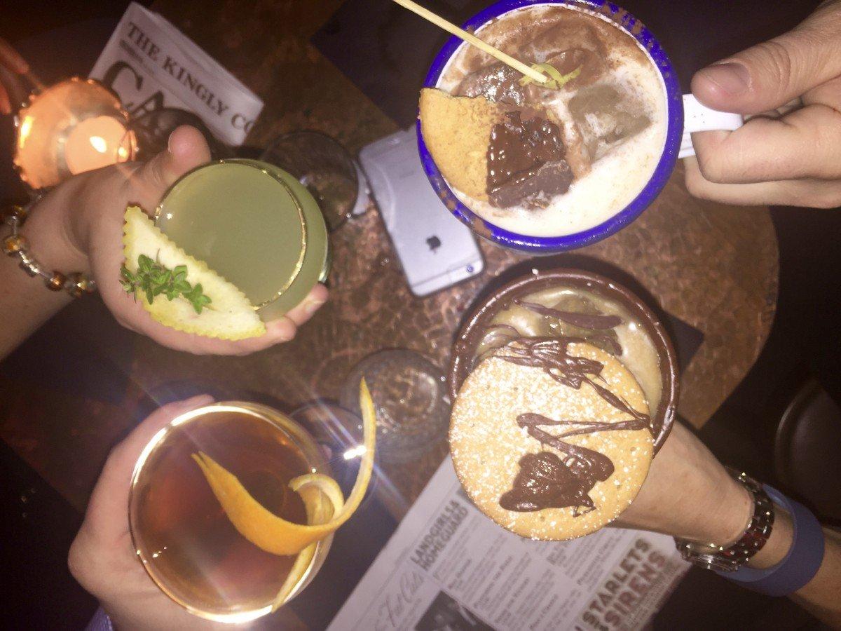 Cahoots underground cocktail bar