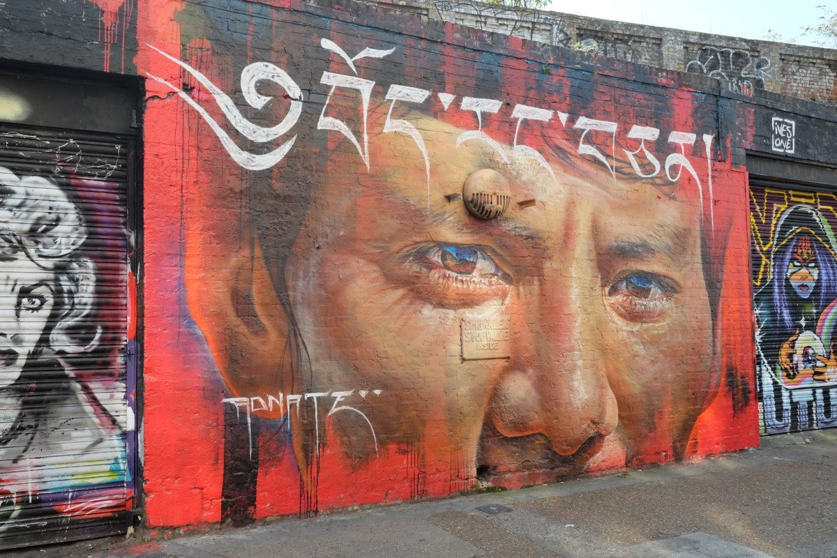 Street art Sclater street london
