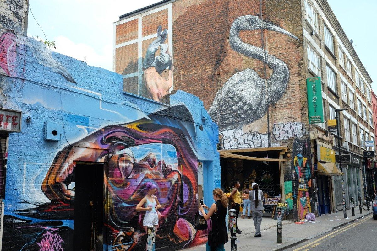 Hanbury street street art fujifilm xt10