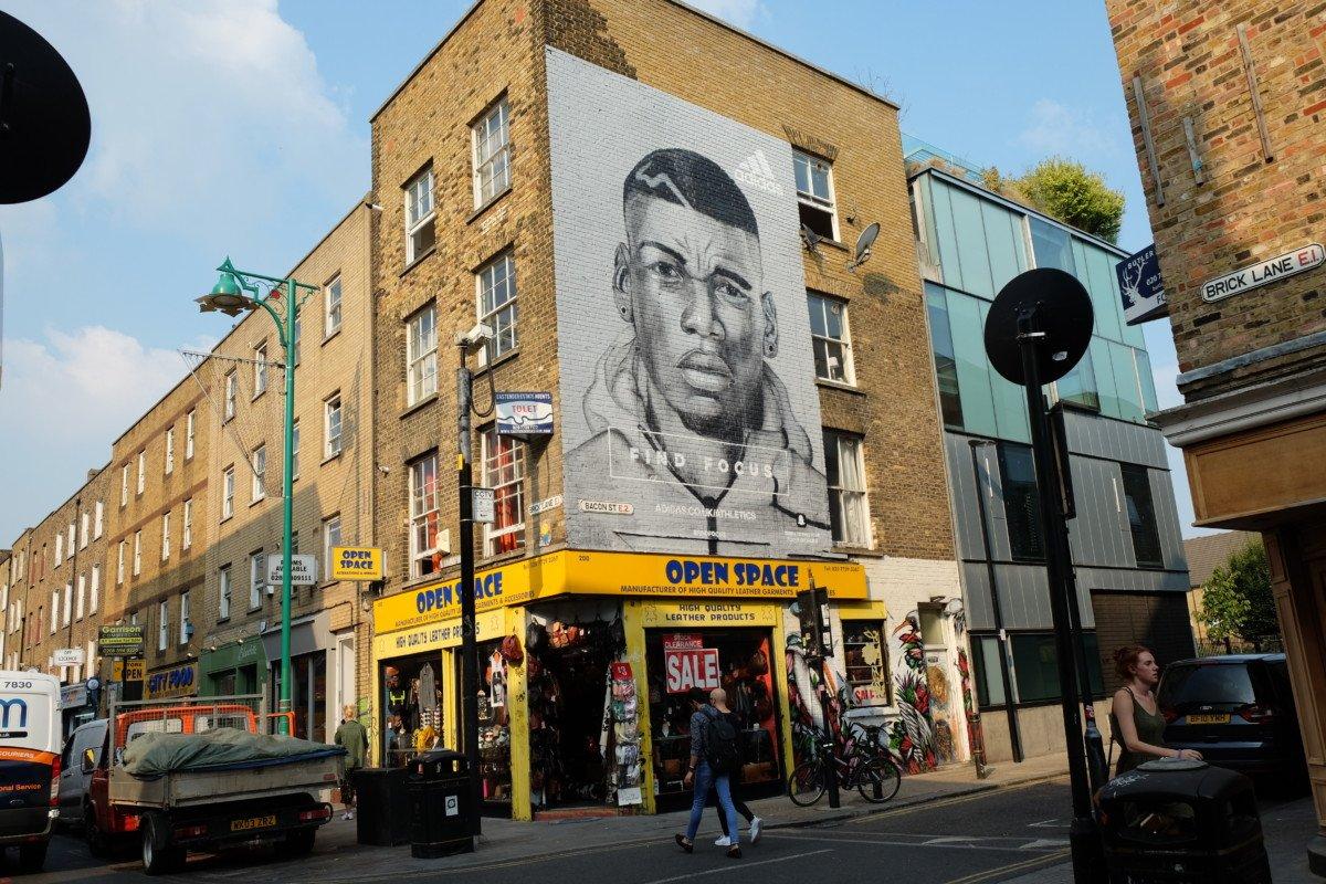 Street art Brick lane london