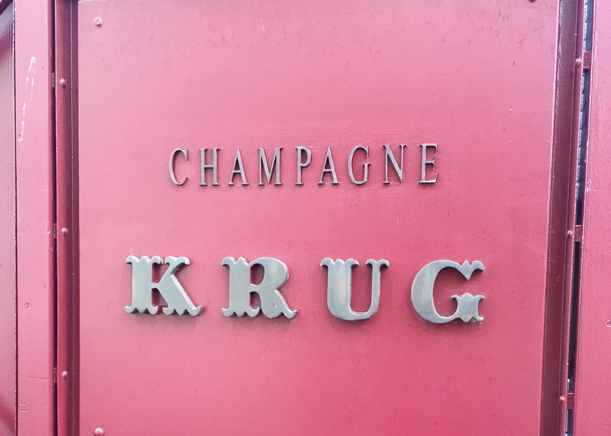 Krug Id Krug champagne tour tasting