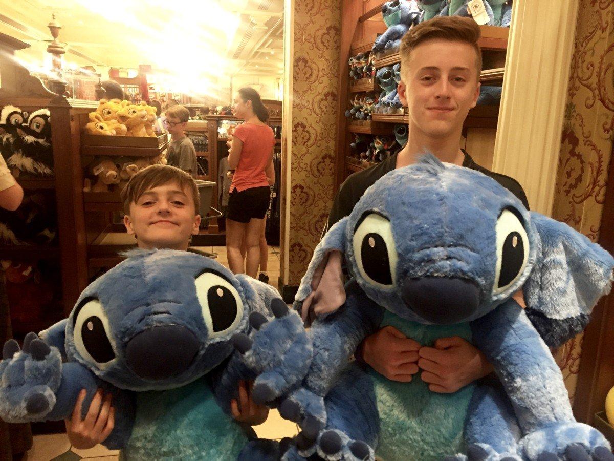Disney resort shopping
