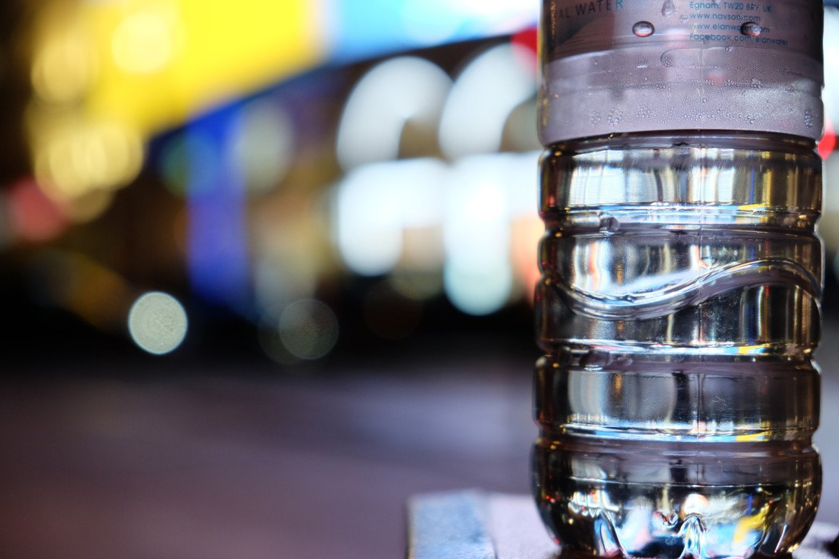 piccadilly circus water bottle