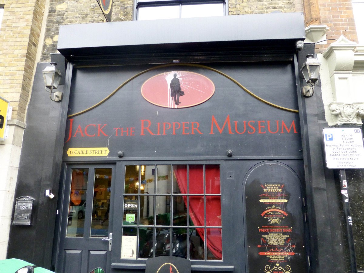 Visit the Jack the Ripper museum this halloween.
