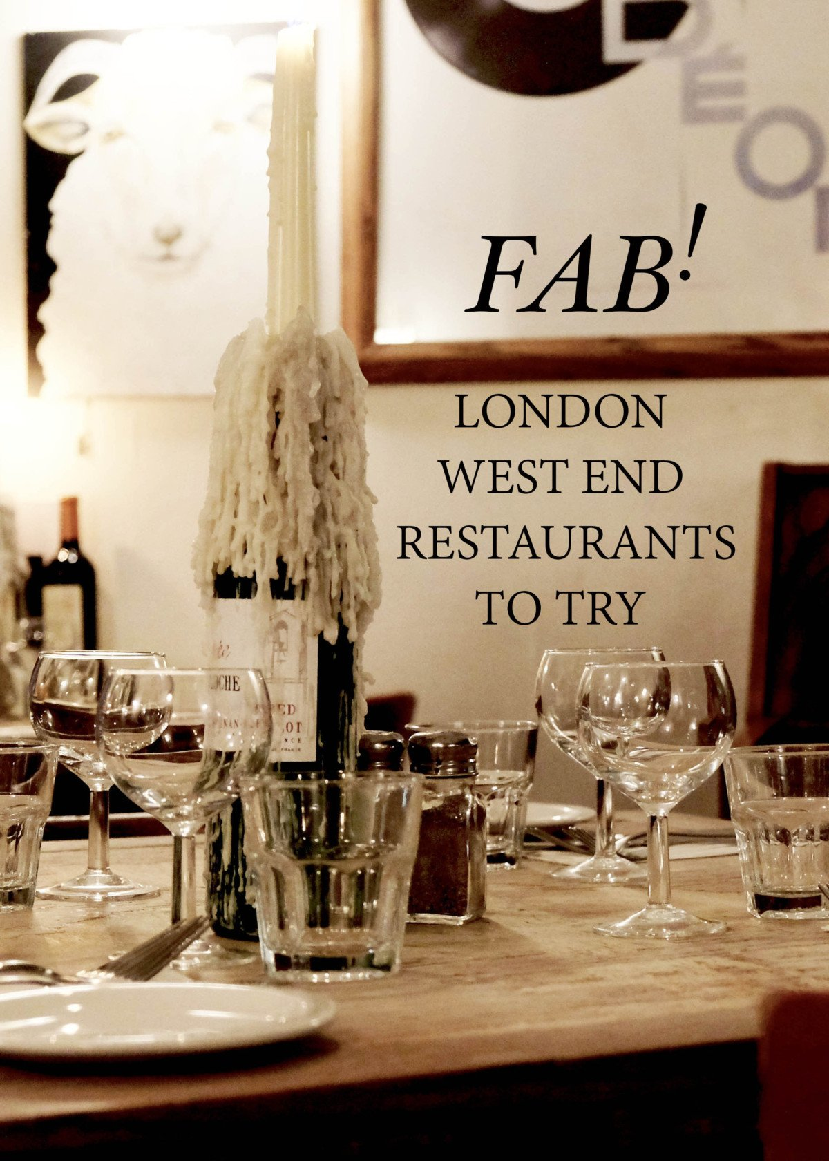 Fab London restaurants to try.