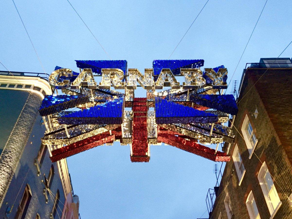iam carnaby street christmas lights