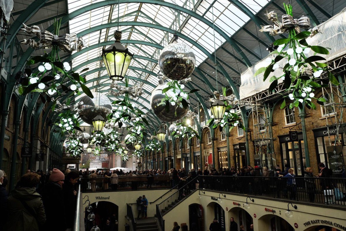 Covent Garden for Kids at Christmas
