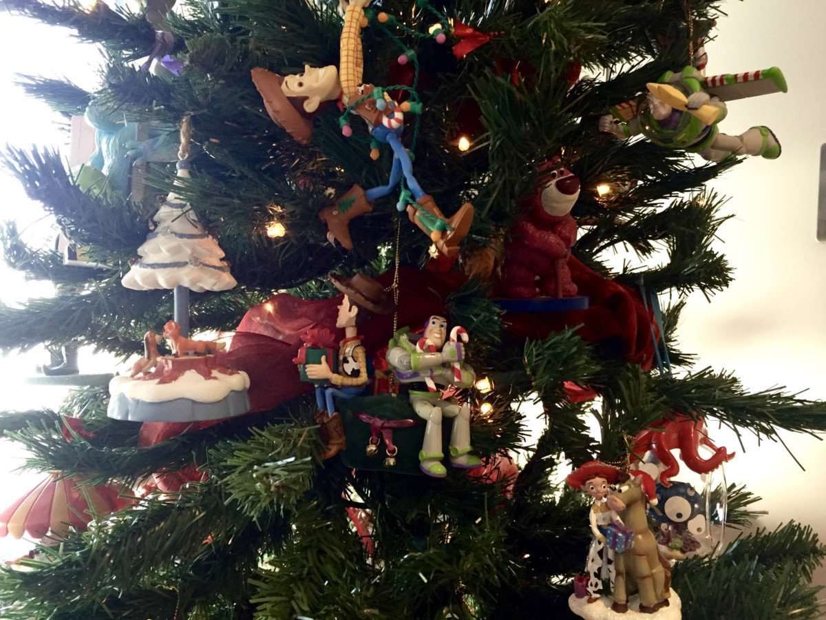 disney christmas tree ornaments grolier