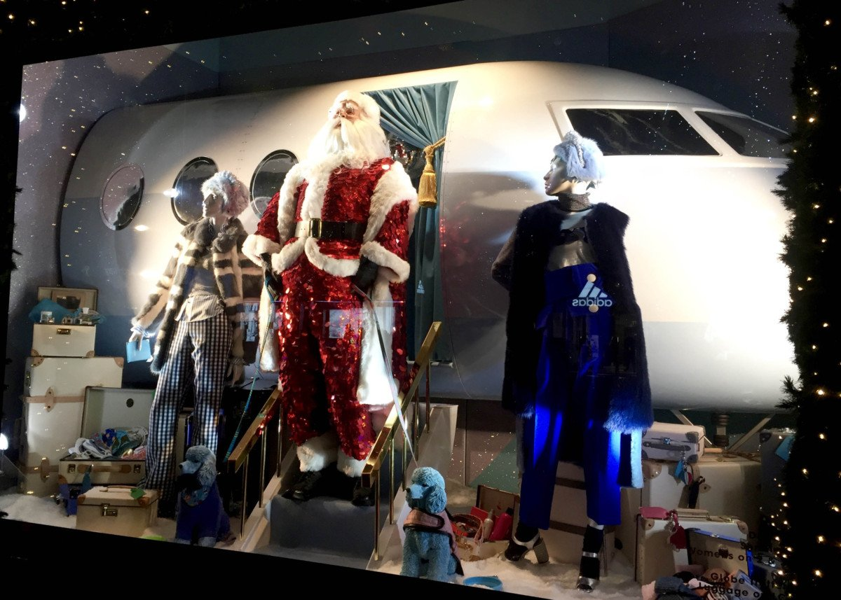 Selfridges Oxford Street Christmas Windows 2016