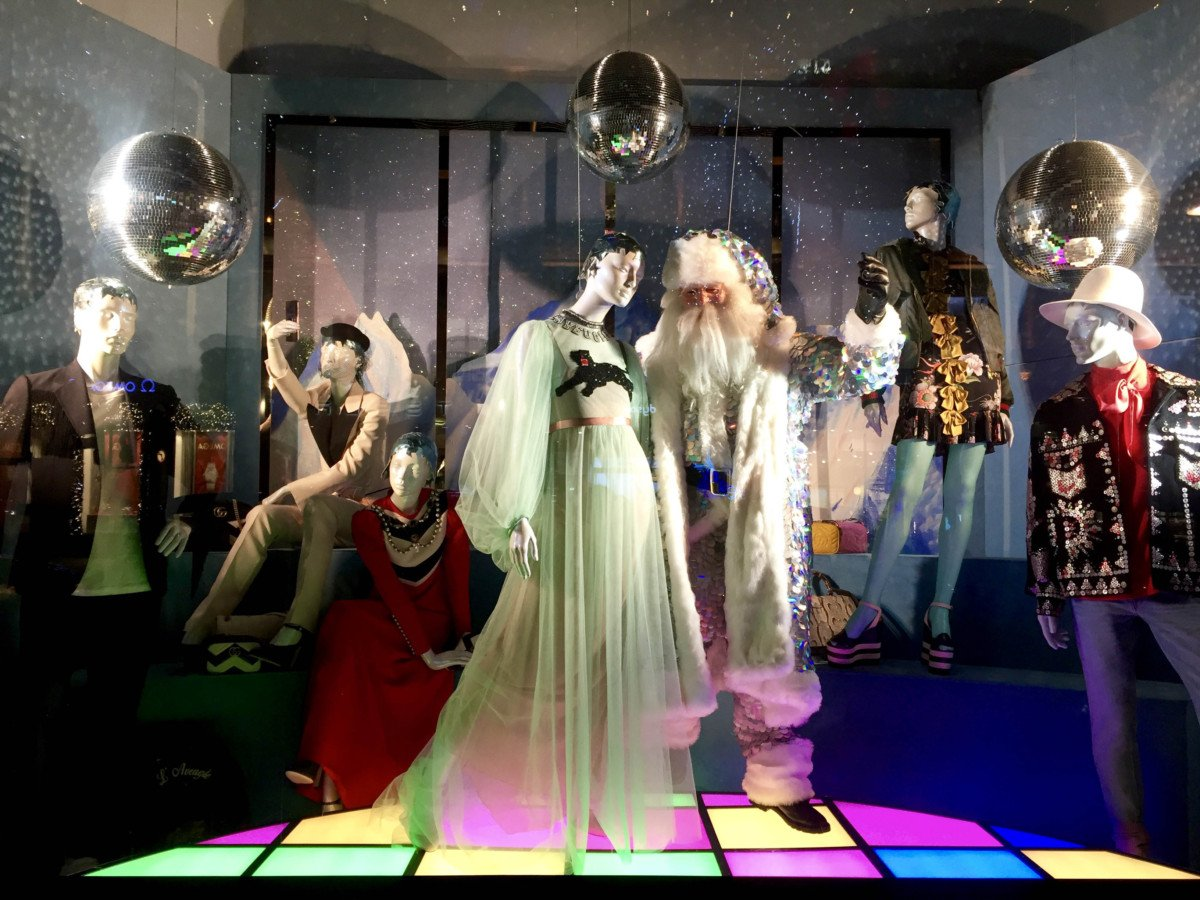 Selfridges Oxford street Christmas Windows santa 2016