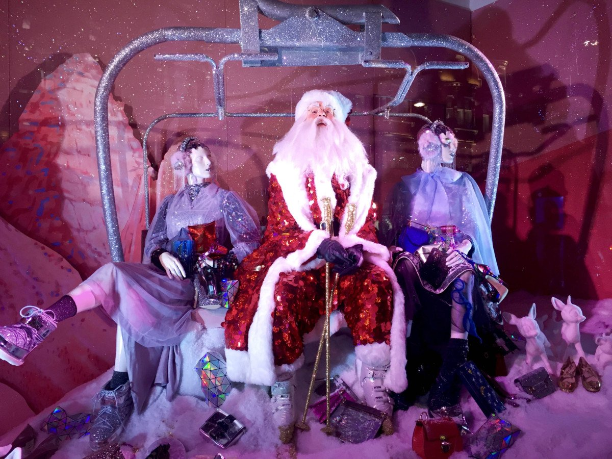 Selfridges Oxford street Christmas Windows