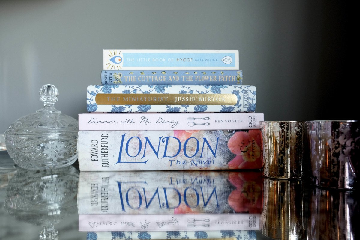 A love Affair with Books, Hygge. waterstones book of the year.