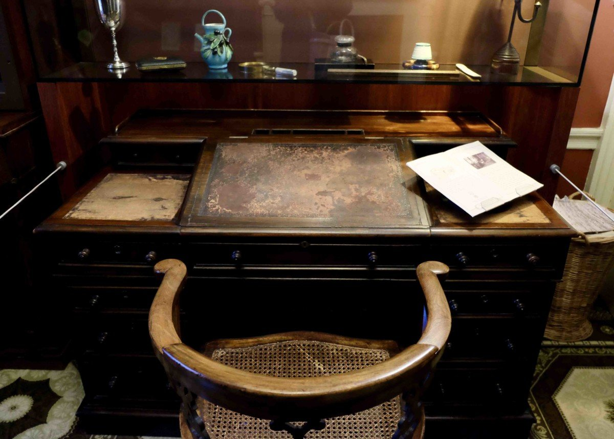 The Charles Dickens Museum London. desk