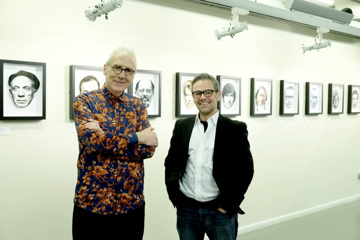 Exhibit A Heroes and Villains an Exhibition by Hugh Tisdale and Dan Murrell