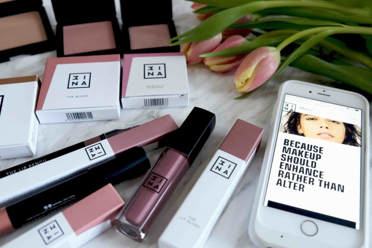My Latest New Beauty Buys from the Exciting Makeup Brand Mina 3ina.