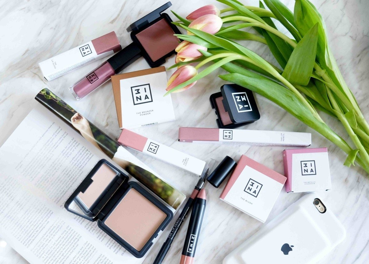 My Latest new Beauty buys from the exciting brand 3ina. makeup picture review