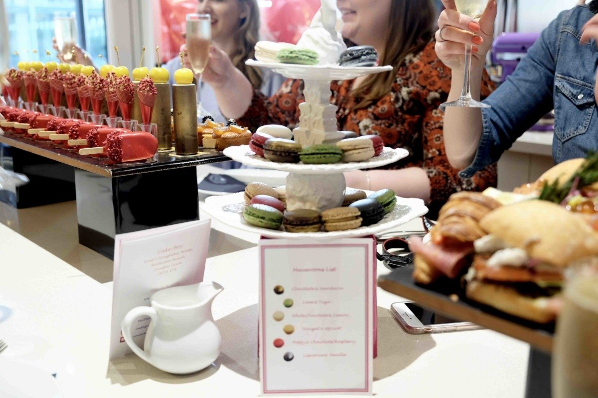 Champagne and Cupcakes with Eric Lanlard and Red Letter Days.afternoon luxury tea