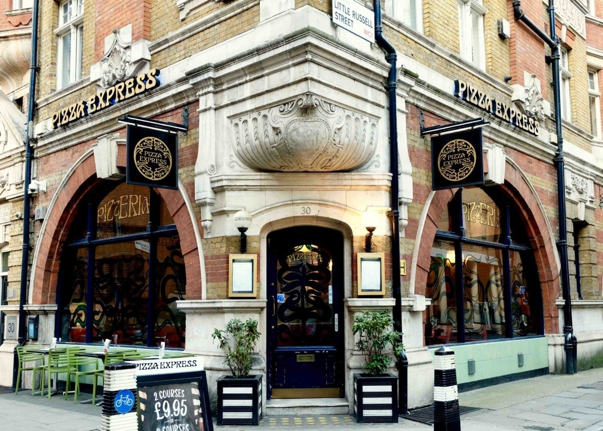 My Sunday Photo, Pizza Express and an Old London Dairy