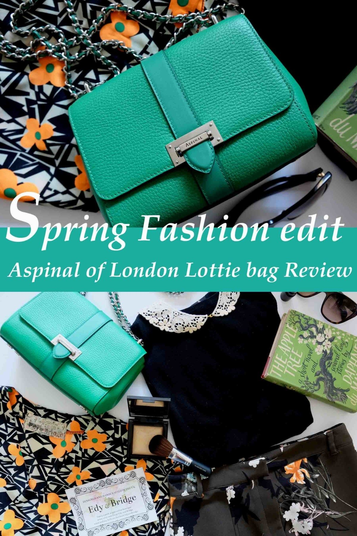 Spring Floral fashion Edit and my Lottie Aspinal of London Bag