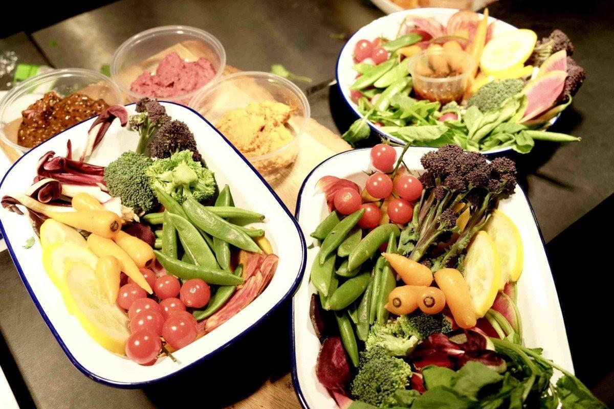 fruit and veg autumn yard