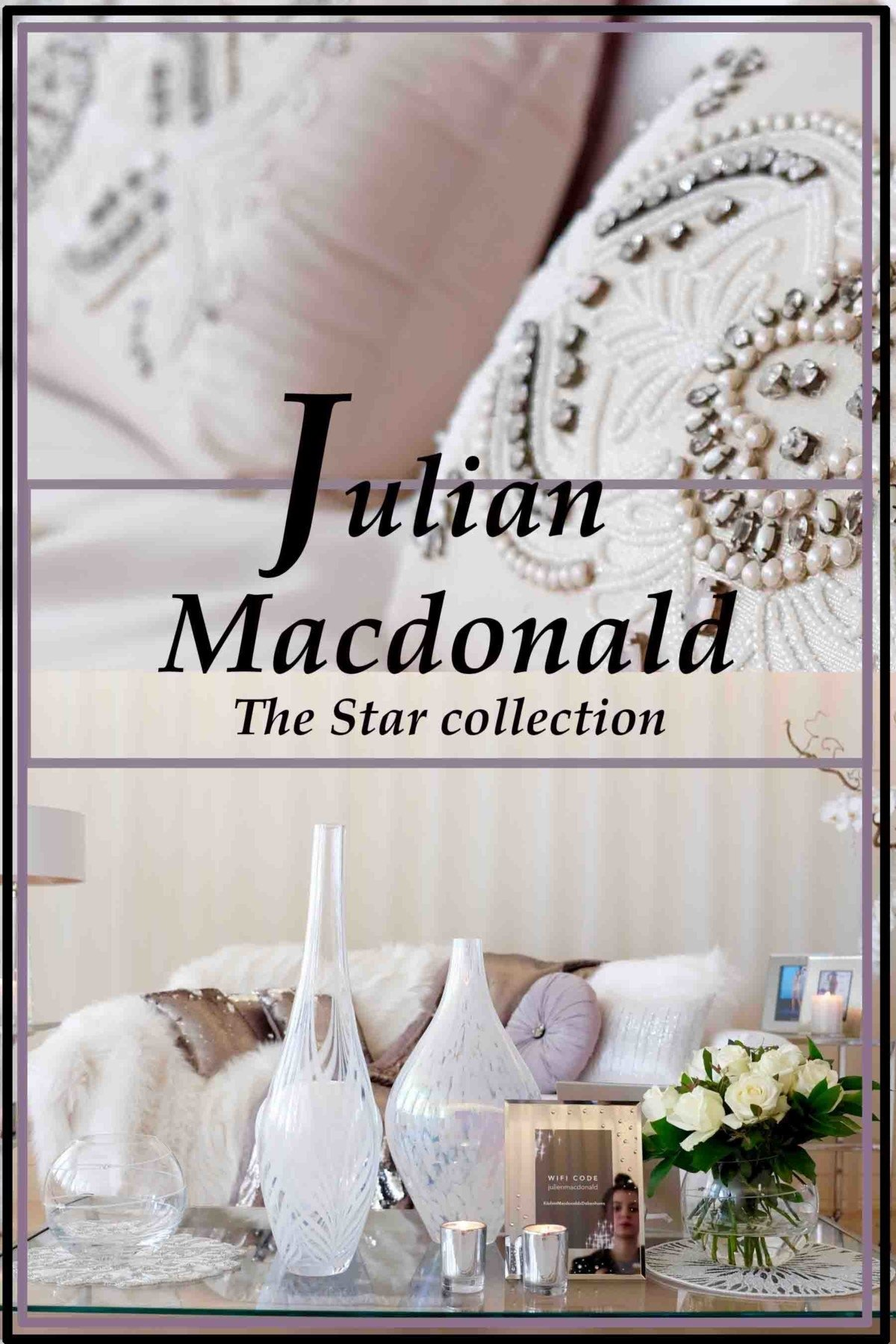 Julian Macdonald the star collection for Debenhams pin