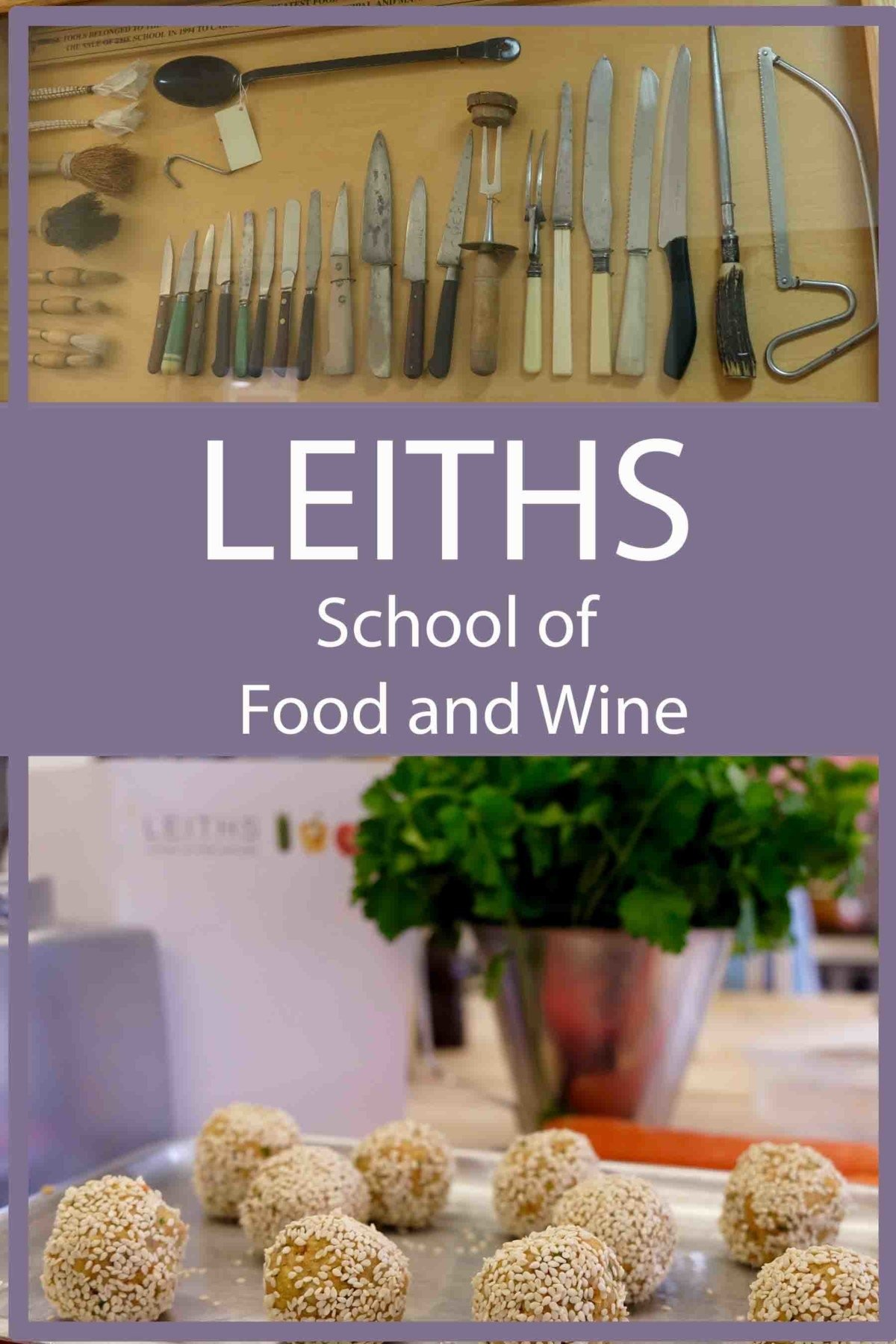 leith school of food and wine review pin