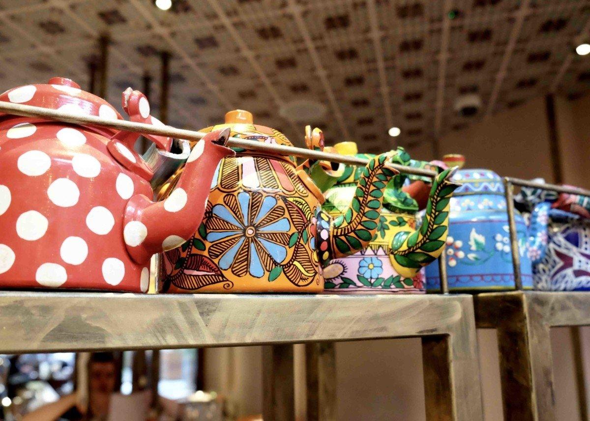 Cinnamon Bazaar teapots Traders High Tea