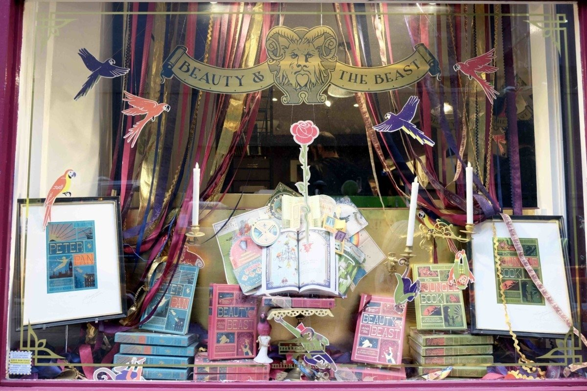 The House of Mina Lima Secret Harry Potter stop in London shop front