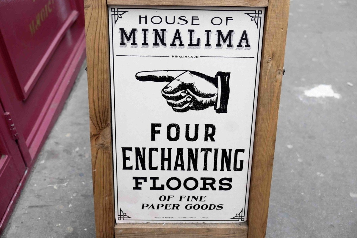 This is the ultimate guide to the House of MinaLima. Mina Lima Secret Harry Potter stop in London