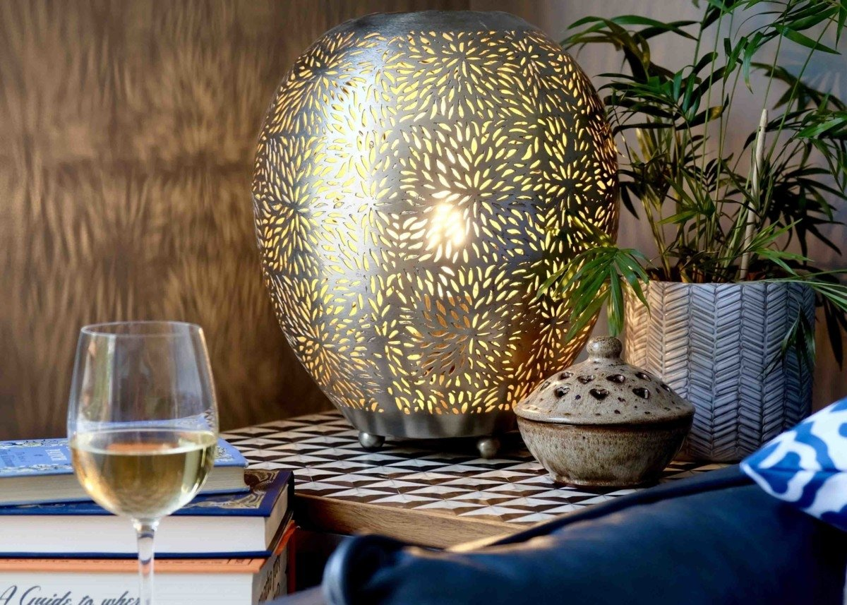 Create a Moroccan Haven in your Home with WayFair Emporio arts lamp
