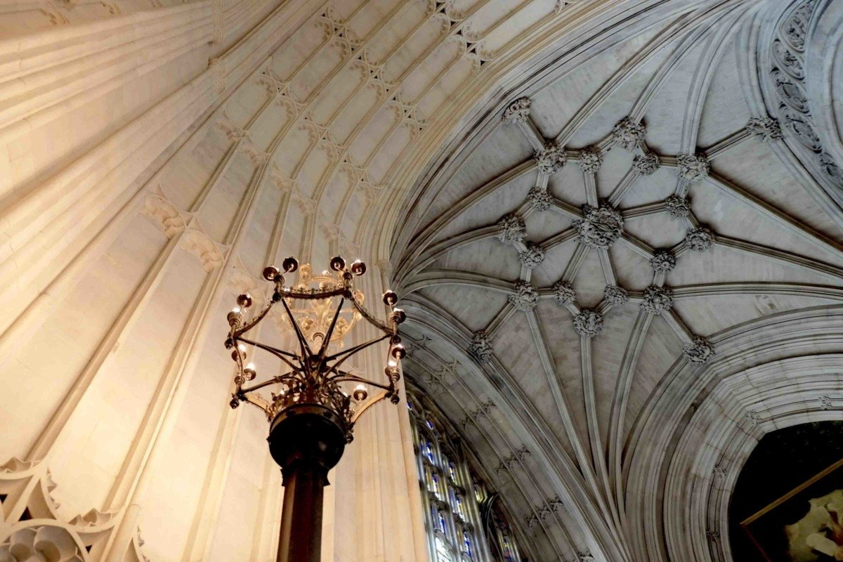 Ceiling of st Stephens porch Westminster hall