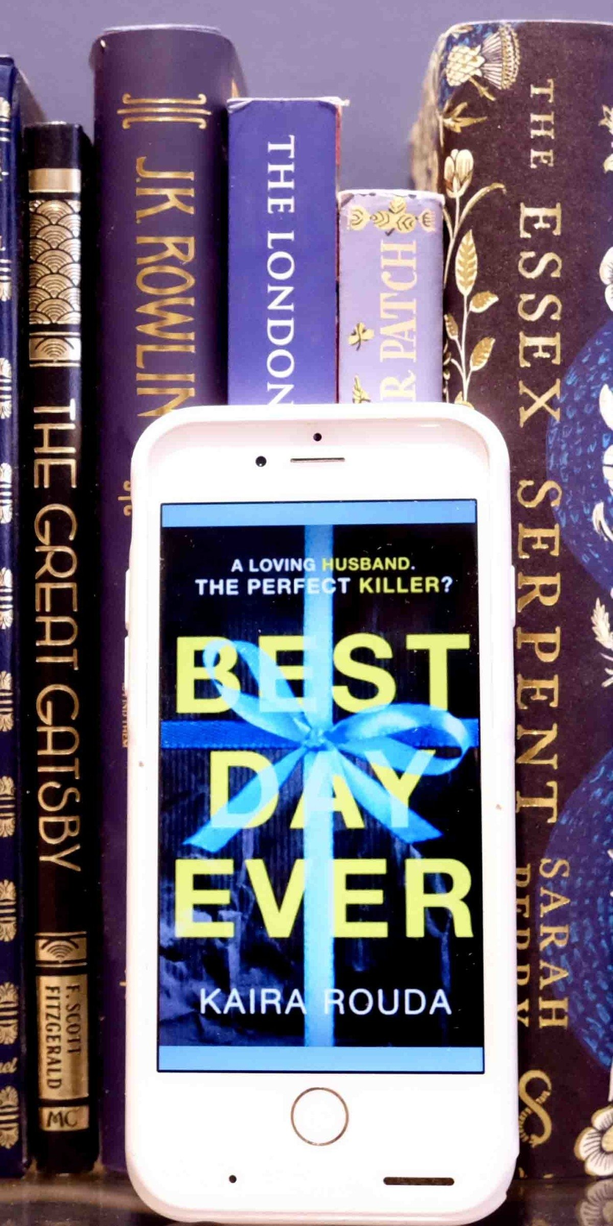 Pin Image of books on shelf the best day ever