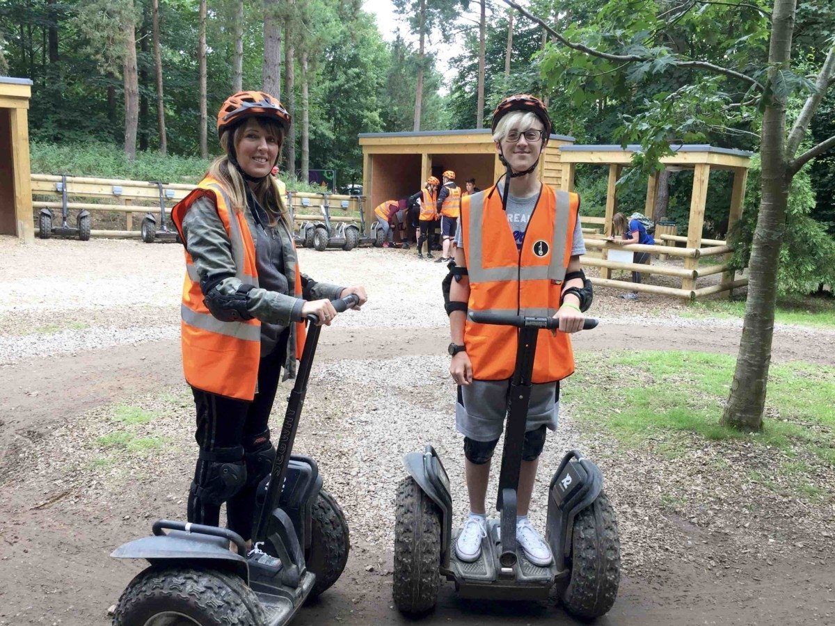 Centreparcs For Teenagers Segway Experience