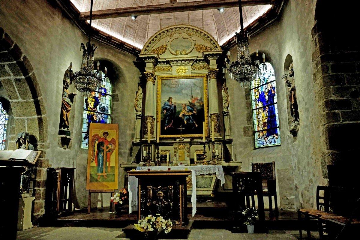 Le Mont Saint Michel Eglise Saimt Pierre