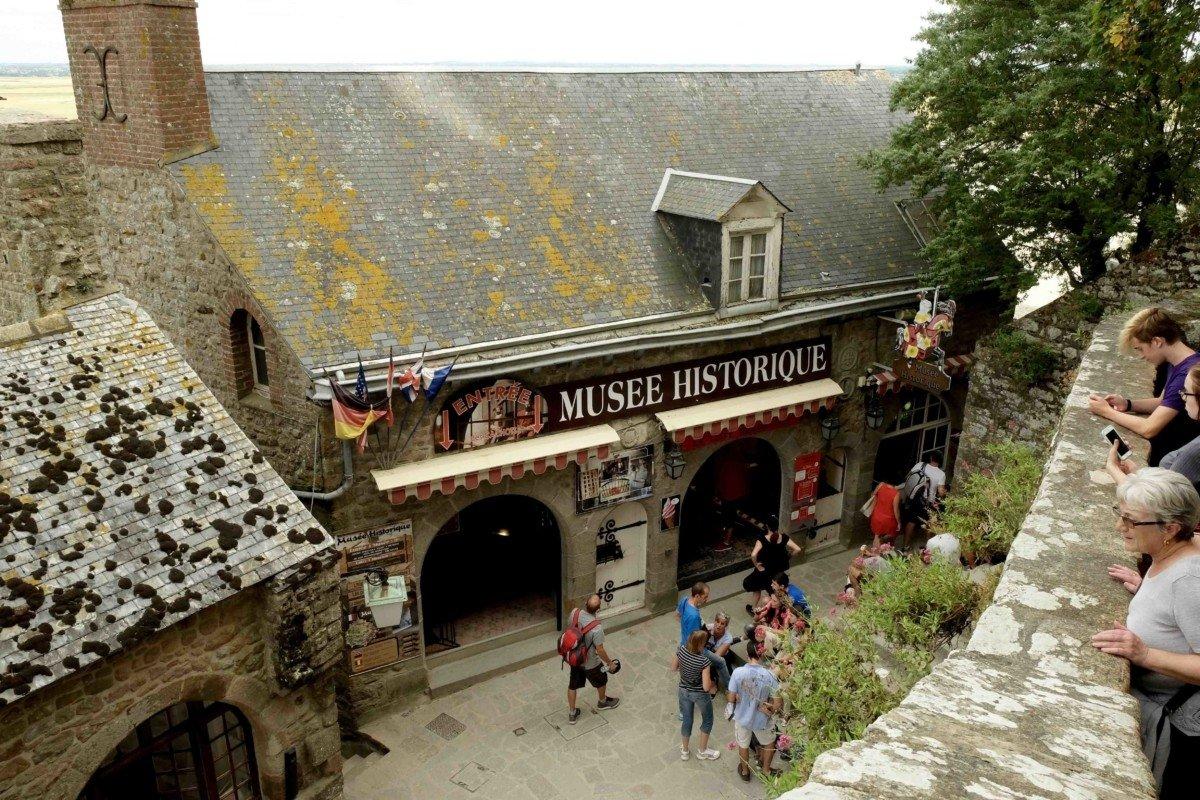 Museum History Le Mont saint Michel
