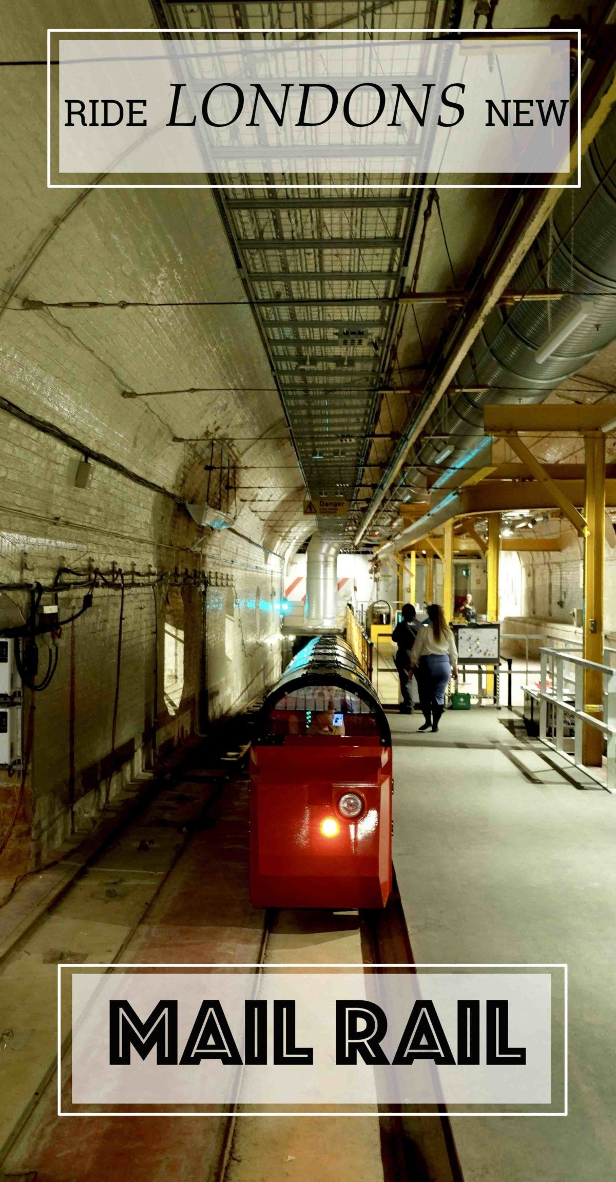 Ride The Mail Rail The Post Offices Railway and Museum