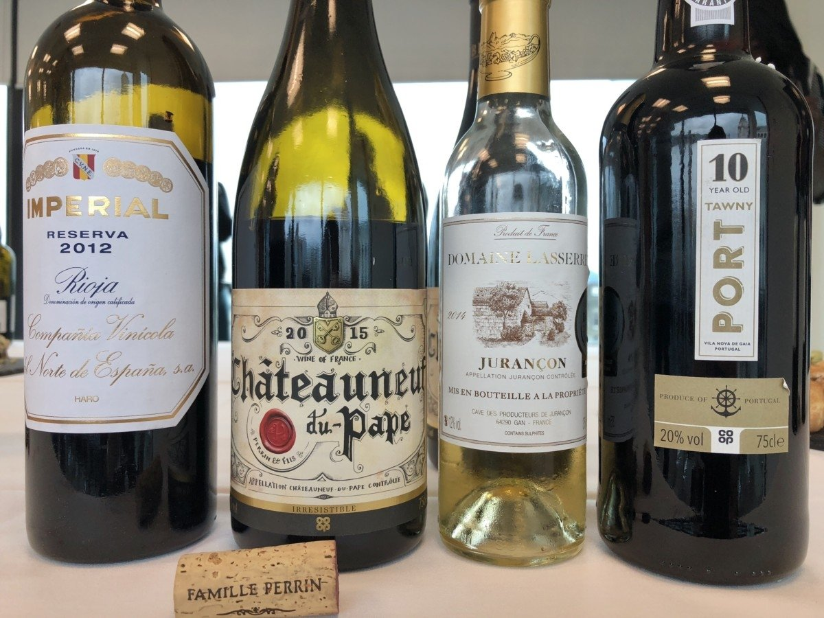 Perfect Wines to pair with Christmas dinner Co-op picture of bottles