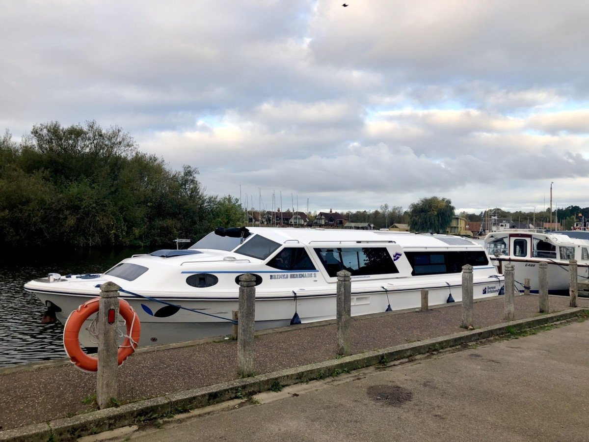 A guide to booking a boat trip on the Norfolk Broads Brinks Serenade 2