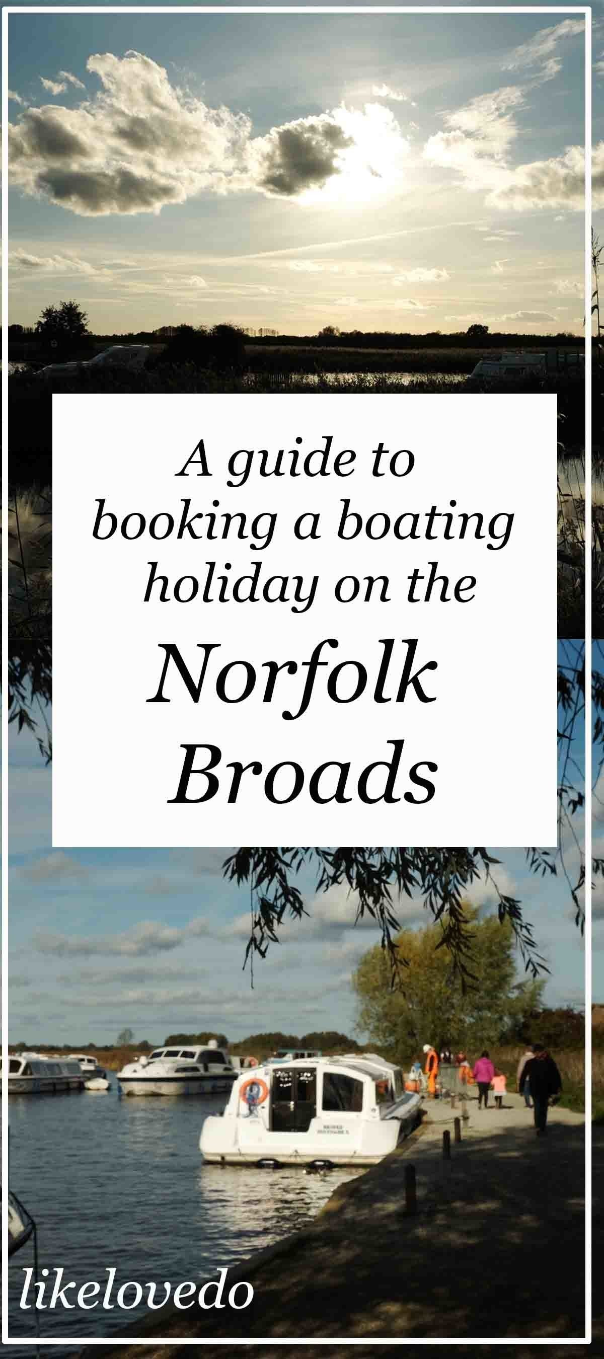 A guide to booking a boat trip on the Norfolk Broads own image