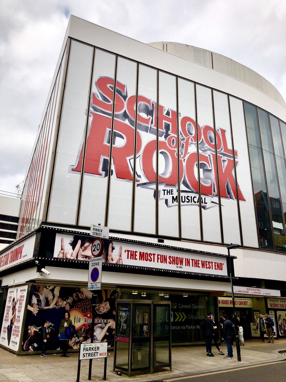 School of Rock New London Theatre How to get cheap theatre tickets in London