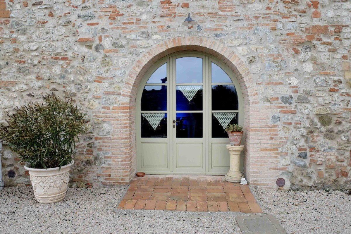 Country Relais and Spa Le Capanne front door
