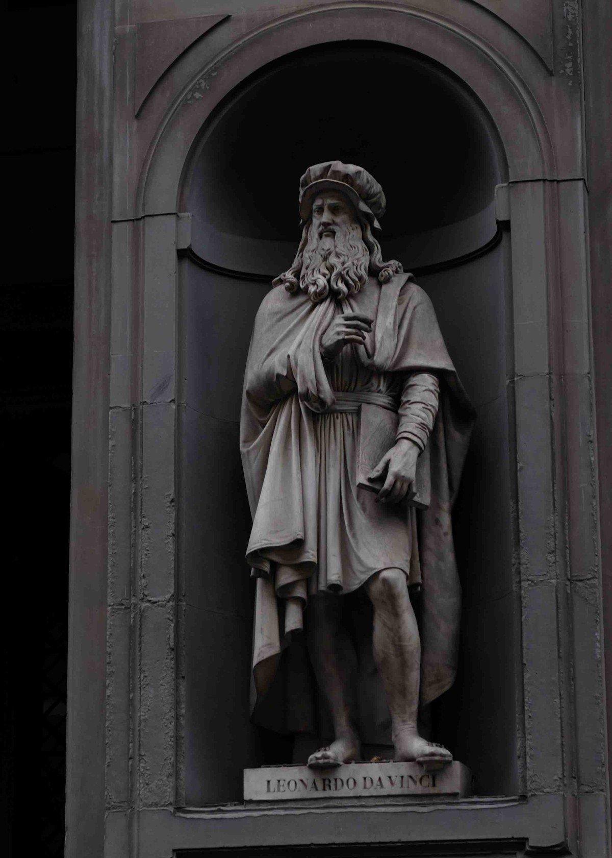 Leonardo D vinci The Uffizi Gallery