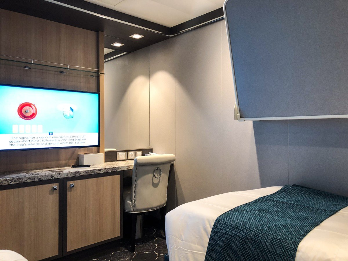 Symphony of the Seas Grand Suite second stateroom
