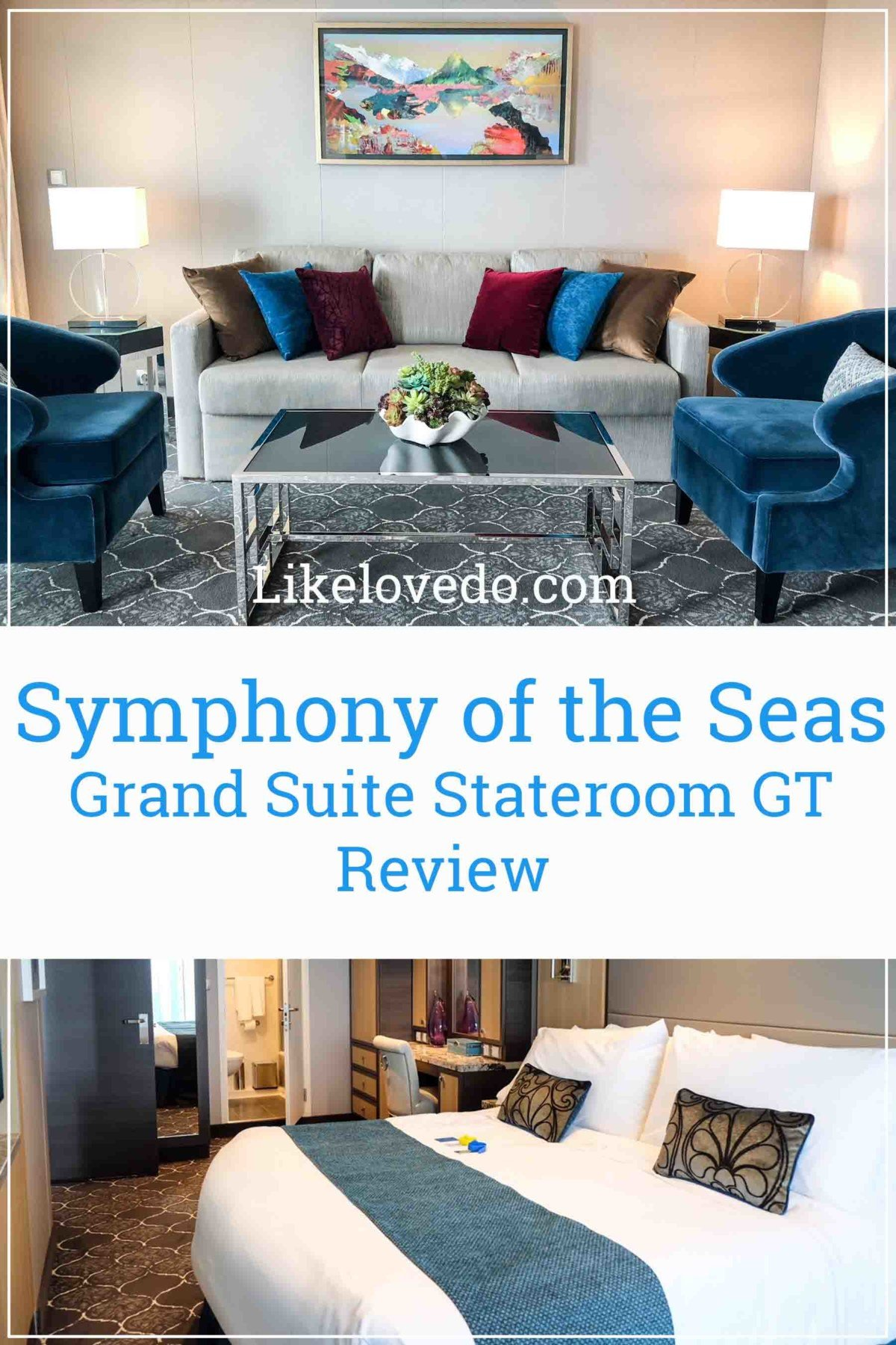 Symphony of the seas Grand suite stateroom