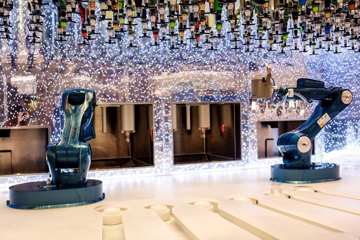 The Bionic Bar Symphony of the Seas